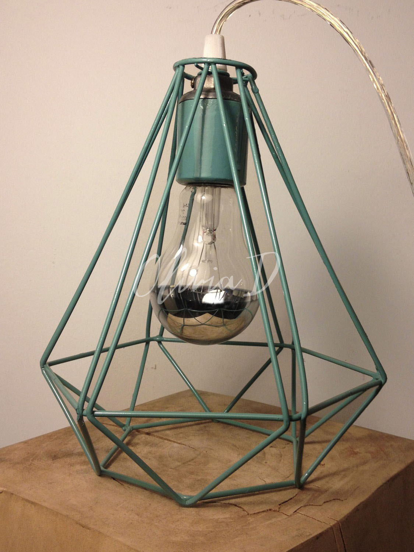 Lampara diamante xl colgante iluminaci n - Estructuras para lamparas ...